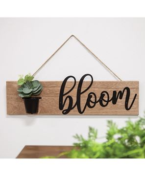 Picture of Bloom Flower Pot Wall Hanging