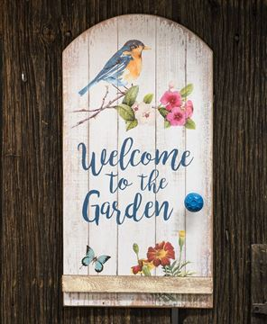 Picture of Welcome to the Garden Sign