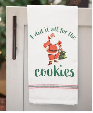 Picture of All For The Cookies Dish Towel