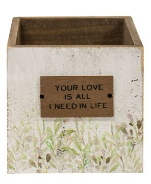 Picture of Your Love Wooden Catch-All Box, 2 asstd.