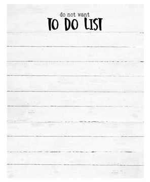 Picture of Do Not Want To Do Notepad