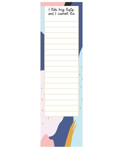 Picture of I Like Big Lists Notepad