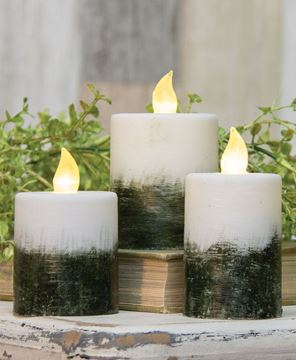 "Picture of Ombre Pillar Candle, 2.25"" x 4"""