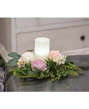 Picture of Spring Peony Candle Ring, 12""