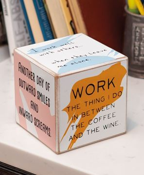 Picture of Work Feelings Cube