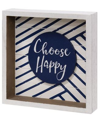 Picture of Choose Happy Box Sign