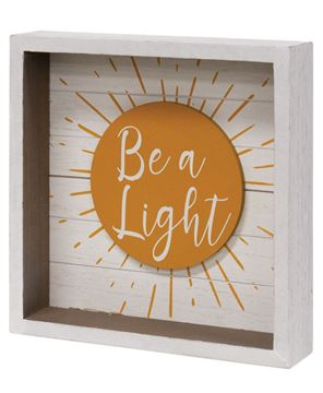 Picture of Be a Light Box Sign