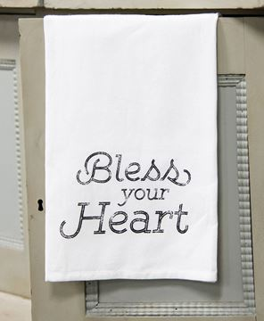 Picture of Bless Your Heart Dish Towel