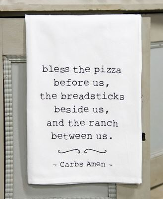 Picture of Carbs Amen Dish Towel