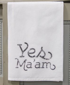 Picture of Yes, Ma'am Dish Towel