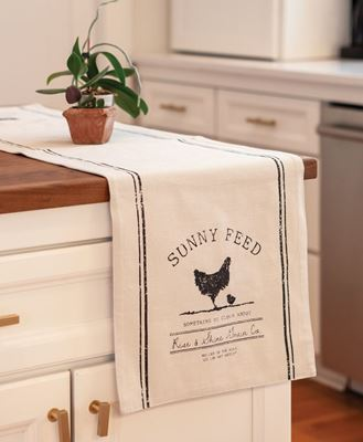 Picture of Sunny Feed Farmhouse Short Runner