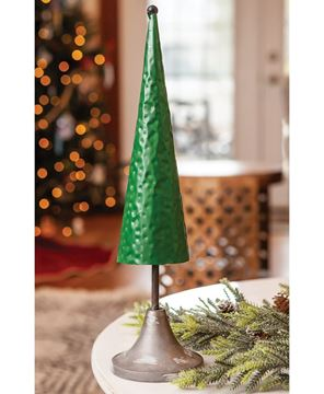 Picture of Green Metal Tree