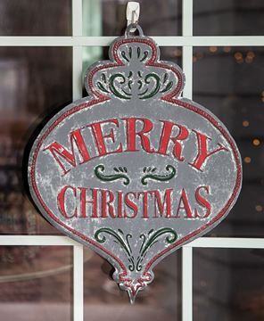 Picture of Merry Christmas Vintage Bulb Sign