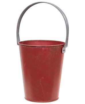 Picture of Rustic Red Bucket