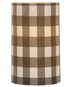 Picture of Gray Large Buffalo Check Timer Pillar