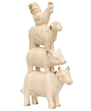 Picture of Farm Animal Resin Stack