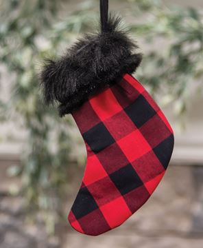 Picture of Red Buffalo Check Stocking