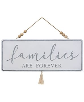 Picture of Families are Forever Metal Hanger