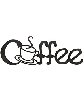 Picture of Coffee Metal Cutout Sign