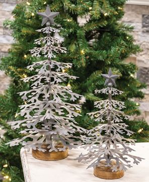 Picture of Galvanized Christmas Tree Small