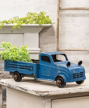 Picture of Blue Metal Farmer's Market Truck