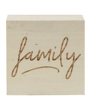 Picture of Family Engraved Blocks, 3 Asstd.