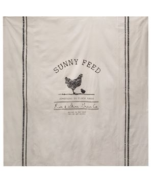 Picture of Sunny Feed Farmhouse Shower Curtain