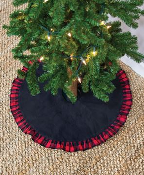 Picture of Buffalo Check Frill Mini Tree Skirt