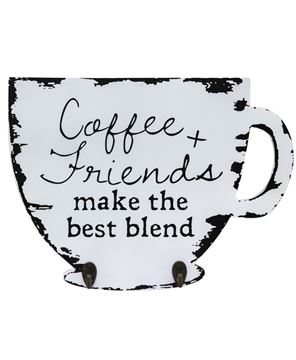 Picture of Best Blend Coffee Cup Holder Sign