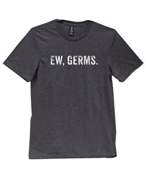 Picture of Ew, Germs T-Shirt, Dark Grey - XXL