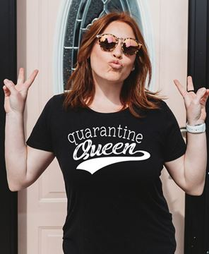 Picture of Quarantine Queen T-Shirt- XXL