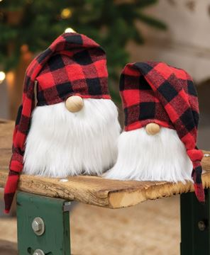 Can Carry a Square Three-in-one Data Cable Funny Christmas Elements with Tartan Background