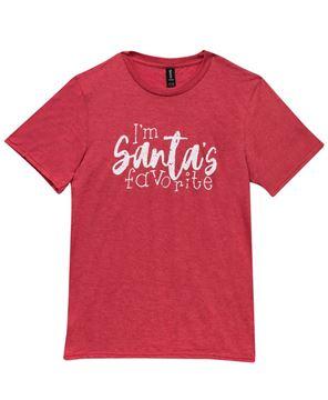 Picture of I'm Santa's Favorite T-Shirt, XXL