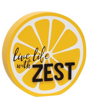 Picture of Live Life With Zest Lemon Slice