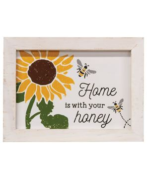 Picture of Home is With Your Honey Frame