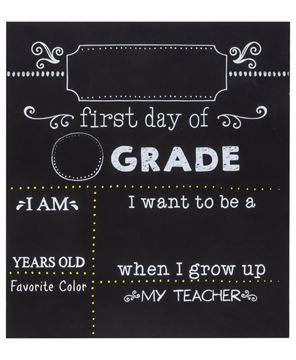 Picture of Gradeschool Milestones Chalkboard