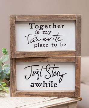 Picture of Just Stay/Together Frame, 2 Asstd.