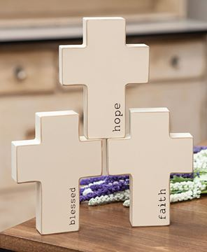 Picture of Inspirational Chunky Cross, 3 Asstd.