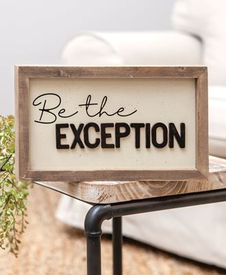 Picture of Be the Exception Frame