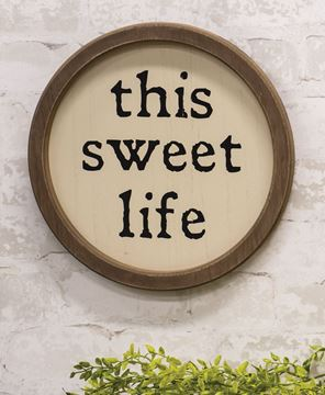 Picture of This Sweet Life Circle Frame