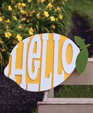 Picture of Hello Lemon Sign
