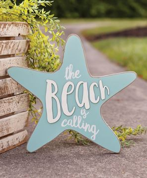 Picture of The Beach Is Calling Star Plaque