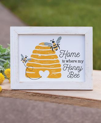 Picture of Home Is Where My Honey Bee Frame