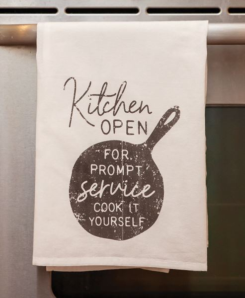 Picture of Kitchen Open Dish Towel