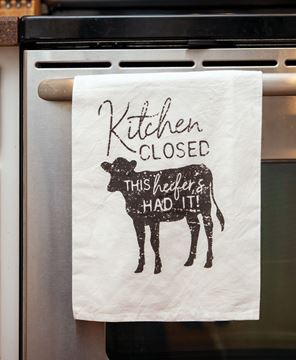 Picture of Kitchen Closed Dish Towel