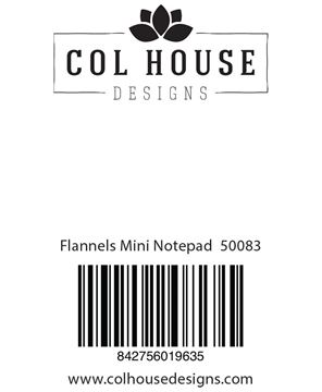Picture of Flannels Mini Notepad