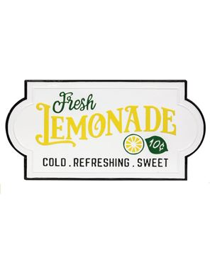 Picture of Fresh Lemonade Enamel Sign