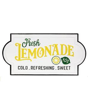 Picture of Fresh Lemonade Enamel Sign