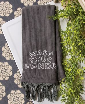Picture of Wash Your Hands Dishtowel