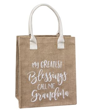 Picture of My Greatest Blessings Call Me Grandma Tote